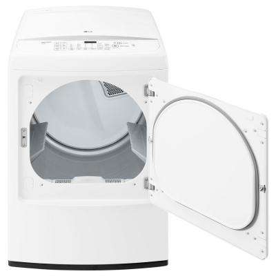 7.3 cu. ft. Electric Dryer with Front Control in White