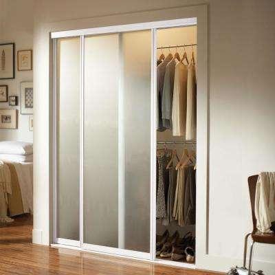 Silhouette 1 Lite Aluminum Frame Mystique Duratuf Tempered Safety Glass Interior Ultraglide Sliding Door
