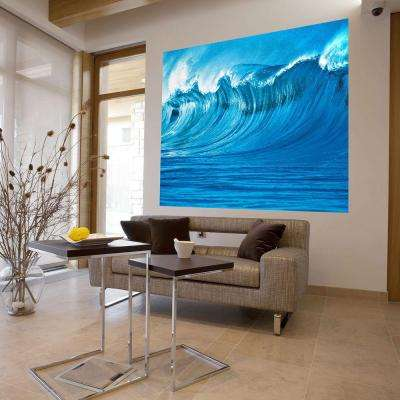 79 in. H x 63 in. W The Wave Wall Mural