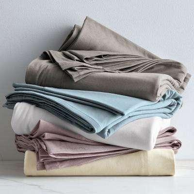 Organic Cotton Jersey Flat Sheet