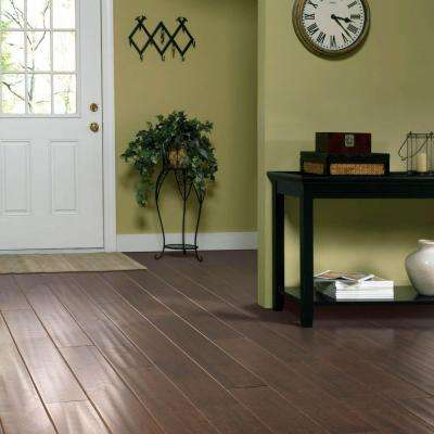 Mocha Maple 1/2 in. T x 5.25 in. W x Varying Length Soft Scraped Engineered UNICLIC Hardwood Flooring (23 sq. ft.)