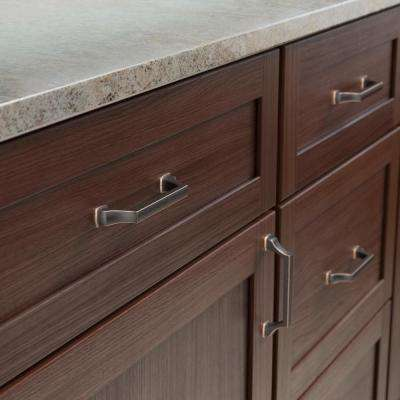 Brightened Opulence 3-3/4 in. (96mm) Center-to-Center Bronze with Copper Highlights Drawer Pull
