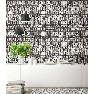 Around the World Peel and Stick Wallpaper