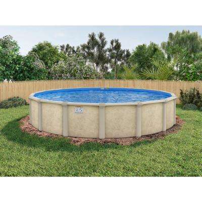 Serenity Round Pool Package 48 in. D