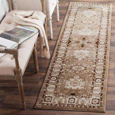 Vintage Hamadan Taupe 2 ft. 2 in. x 10 ft. Runner