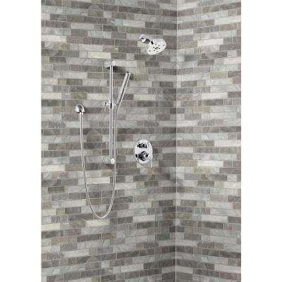 Tarvos Interlocking 11.81 in. x 11.81 in. x 6 mm Glass Mesh-Mounted Mosaic Tile (14.55 sq. ft./case)