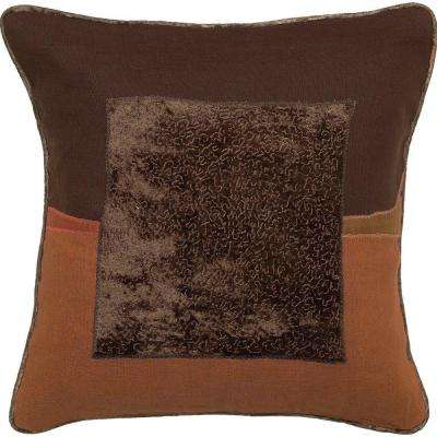 Square1 18 in. x 18 in. Decorative Down Pillow