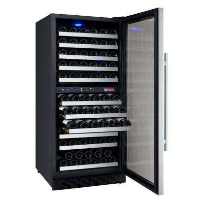 FlexCount Series 121-Bottle Dual Zone Convertible Wine Cellar