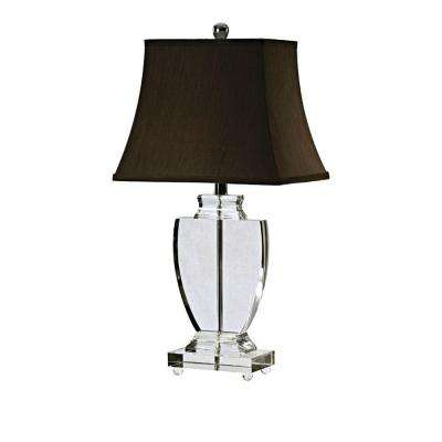 28 in. Leaded Crystal Table Lamp-DISCONTINUED