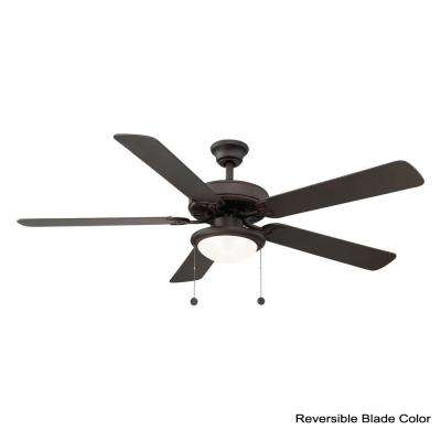 Trice 56 in. LED Espresso Bronze Ceiling Fan