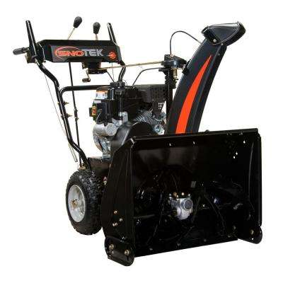 24 in. 2-Stage Electric Start Gas Snow Blower