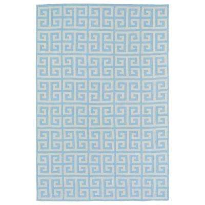 Lily and Liam Blue 4 ft. x 6 ft. Area Rug
