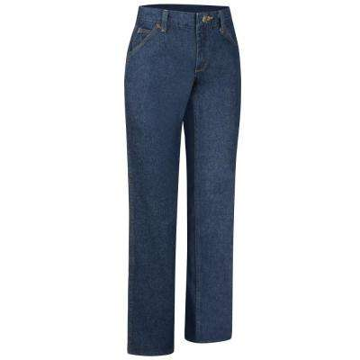 Women's Prewashed Denim Straight Fit Jean