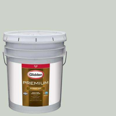 5-gal. #HDGCN14U Silver Maple Flat Latex Exterior Paint