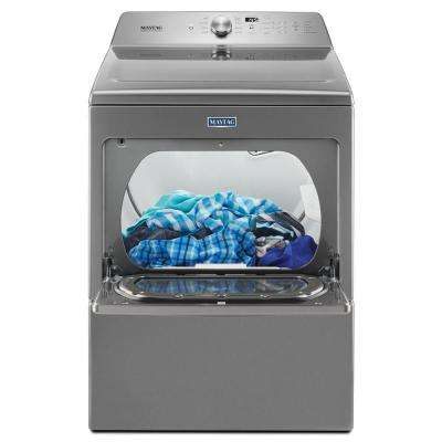 7.4 cu. ft. 240-Volt Metallic Slate Electric Vented Dryer with Intellidry Sensor