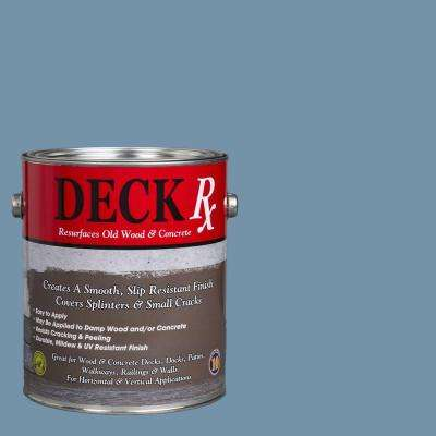 Deck Rx 1 gal. New Port Blue Wood and Concrete Exterior Resurfacer
