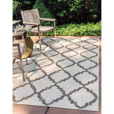 Outdoor Trellis Beige 2' 2 x 3' 0 Area Rug