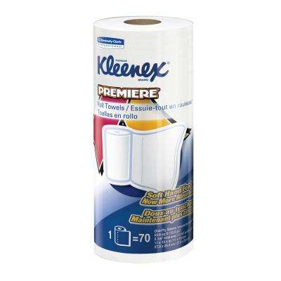 Premiere White Kitchen Roll Towels (Case of 24)