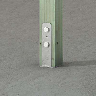 CB Hot-Dip Galvanized Column Base for 4x4 Nominal Lumber
