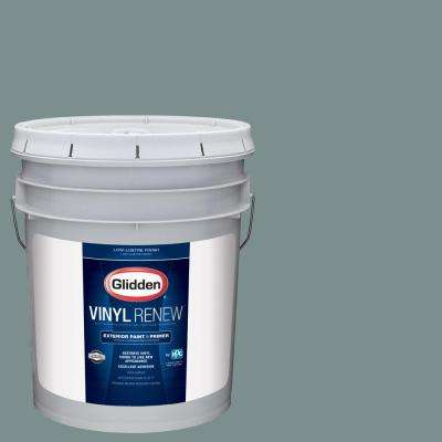 5 gal. #HDGCN21U Greyed Teal Green Low-Lustre Exterior Paint with Primer