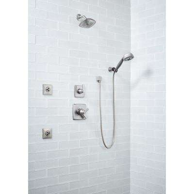 Frosted Icicle 3 in. x 9 in. Glass Wall Tile (3.8 sq. ft. / case)