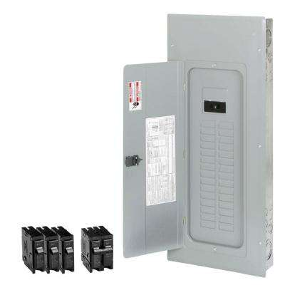 200 Amp 30-Space 40-Circuit BR Type Main Breaker Load Center Value Pack Includes 4 Breaker