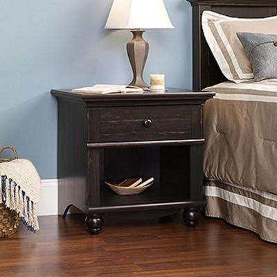 Harbor View 1-Drawer Antiqued Paint Nightstand