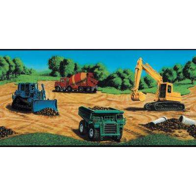 13.5 in. x 15 ft. Brightly Colored Construction Border