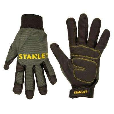 Men's Padded Comfort Grip Gloves