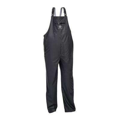 Premium Black Stretch Rain Bibs