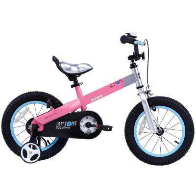 Buttons Kids Bike with 18 in. Wheels in Matte Pink