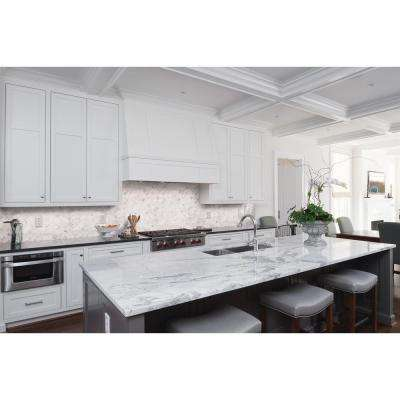 Arabesque Backsplash Tile Flooring The Home Depot