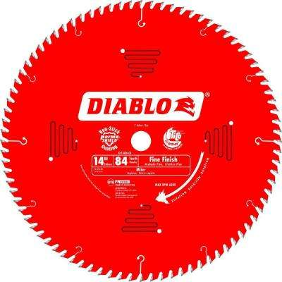 14 in. x 84-Tooth Fine Finish Saw Blade