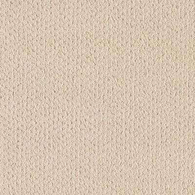 Carpet Sample - Spirewell - Color Antique Ivory Pattern 8 in. x 8 in.