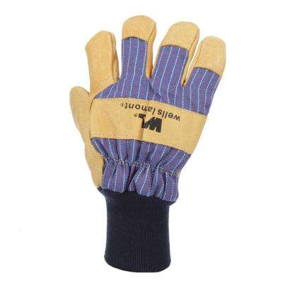 Extra-Large Insulated Grain Pigskin Leather Palm Work Gloves