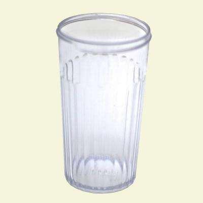 Replacement Base Only for Sugar Pourer/Cheese Shaker with SAN Plastic in Clear (Case of 72)