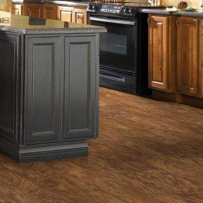 Hamilton Driftwood 7 in. x 48 in. Resilient Vinyl Plank Flooring (34.98 sq. ft. / case)