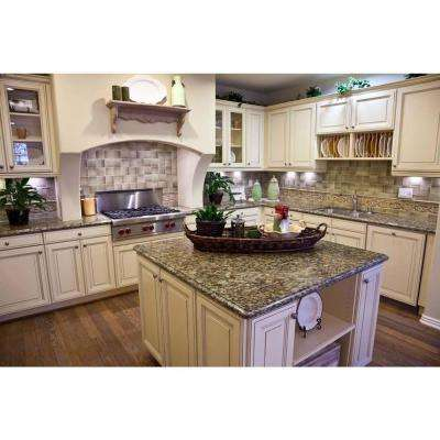 Granite - Countertop Samples - Countertops - The Home Depot on a river valley granite in kitchen, silver pearl granite kitchen, sensa countertop star beach granite kitchen, kashmir white granite countertops in kitchen, st cecilia granite kitchen, santa cecilia granite kitchen,
