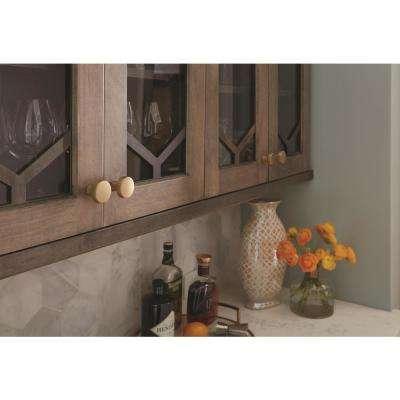 Blackrock 1-5/16 in (33 mm) Diameter Golden Champagne Cabinet Knob