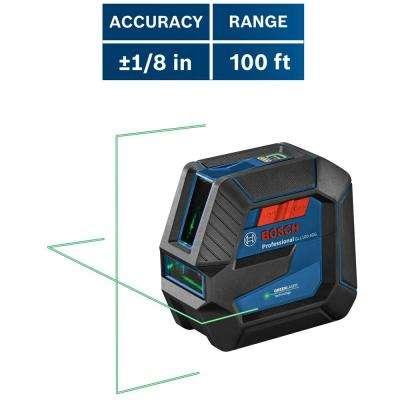 100 ft. Self-Leveling Green Laser Level