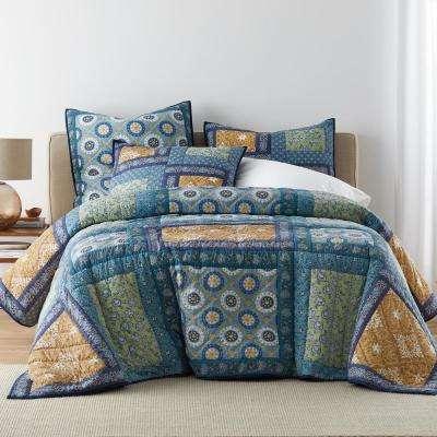 Benson Cotton Patchwork Quilt