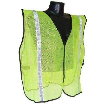 Safety Vest Green 1 in. Tape S-XL