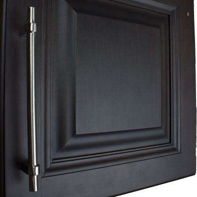 2 Pack Aluminum Electro Hardware Black Coated Round Handle 3 Center to Center