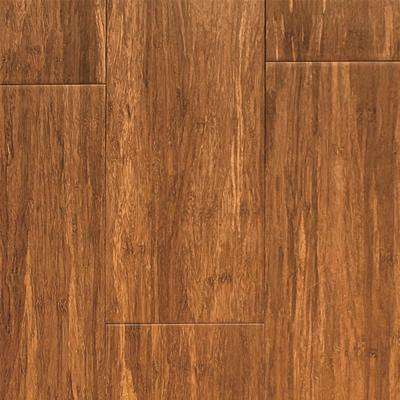 Carbonized 0.45 in. Thick x 5.12 in. Width x 73.23 in. Length Strand Bamboo Flooring (20.82 sq. ft./case)
