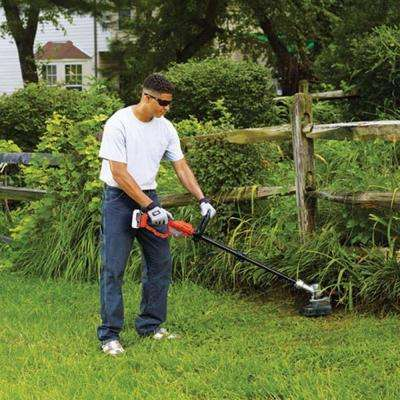 12 in. 20-Volt MAX Lithium-Ion Cordless 2-in-1 String Grass Trimmer/Lawn Edger w/ (1) 4.0 Ah Battery and Charger