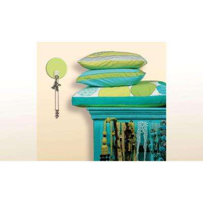 2.875 in. Green Dot Magic Hook Wall Graphic