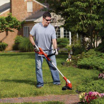12 in. 20-Volt MAX Lithium-Ion Cordless String Grass Trimmer/Lawn Edger w/ (2) 1.5Ah Batteries and Charger