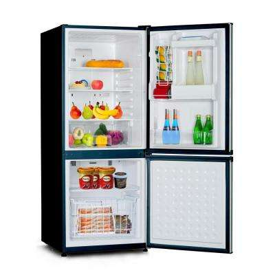 23.8 in. W 9.2 cu. ft. Bottom Freezer Refrigerator in Stainless