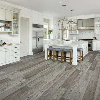 Outlast+ Grey Optimus Pine 10 mm Thick x 7.48 in. Wide x 47.24 in. Length Laminate Flooring (19.63 sq. ft. / case)
