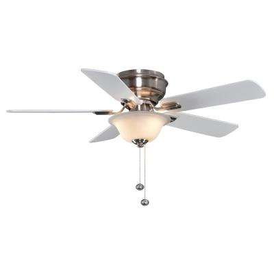 Hawkins 44 in Brushed Nickel Ceiling Fan
